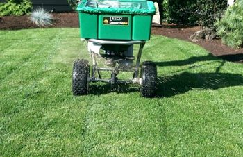 weed control fertilization spreader